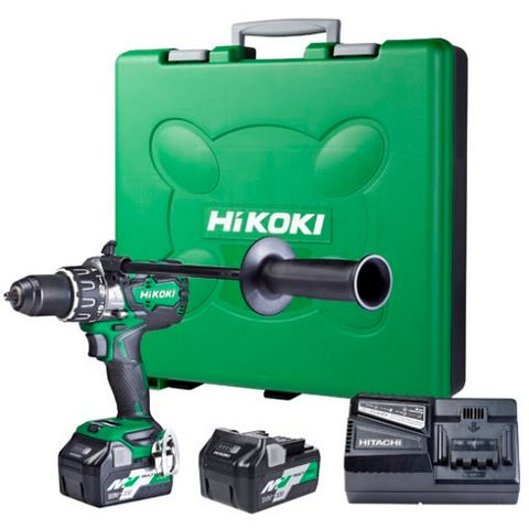 HIKOKI 36V HIGH POWERED 138NM IMPACT DRILL KIT