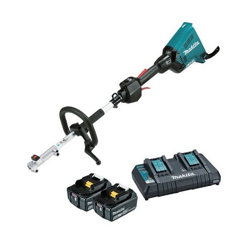MAKITA 18VX2 CORDLESS BRUSHLESS MULTI-FUNCTION POWER HEAD 5ah KIT