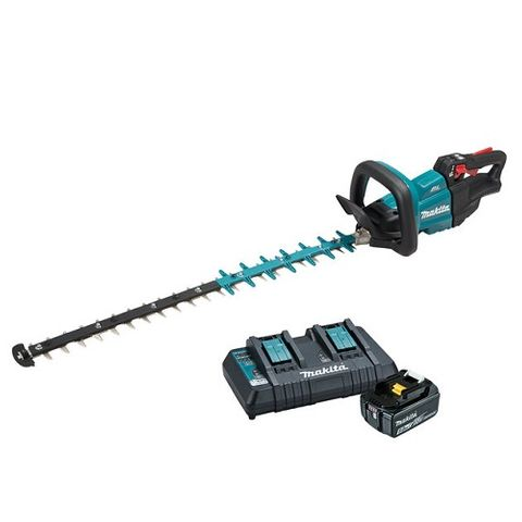 MAKITA 18V LXT BRUSHLESS 750MM HEDGE TRIMMER 5ah KIT