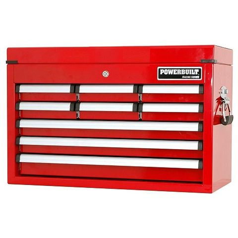 Powerbuilt 9 Drawer Tool Chest - Racing