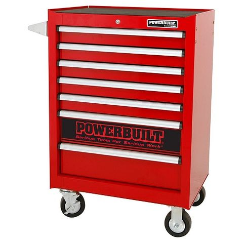 Powerbuilt 7 Drawer Roller Cabinet