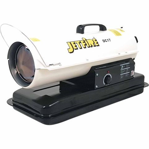 JETFIRE INDUSTRIAL DIRECT FIRE FAN FORCED DIESEL HEATERS 17KW