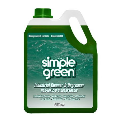 SIMPLE GREEN® INDUSTRIAL CLEANER & DEGREASER CONCENTRATE 4L