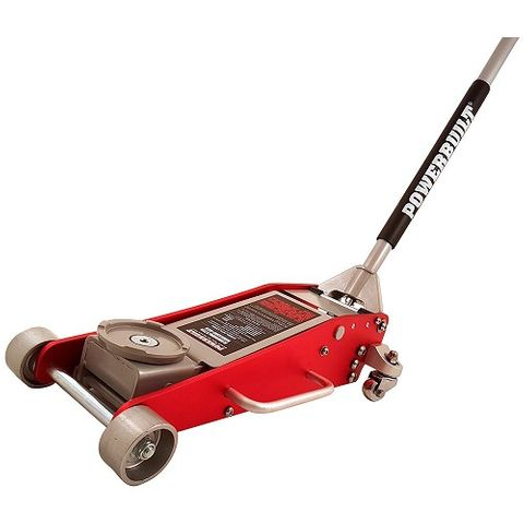 POWERBUILT 2.2 TON / 2000KG LOW PROFILE GARAGE JACK (STEEL/ALUMINIUM)
