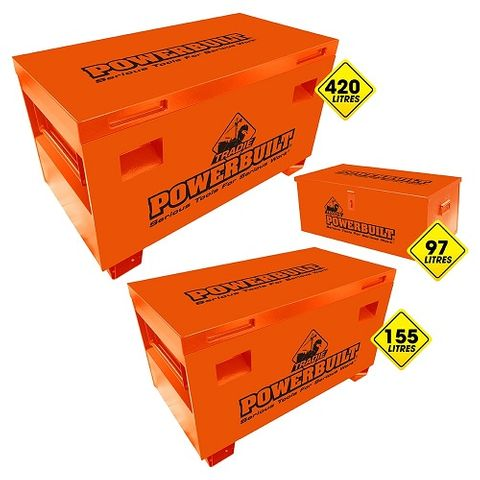 POWERBUILT TRADIE SITE STORAGE 3PC NEST SET