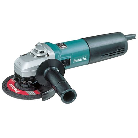 "MAKITA 125MM (5"") 1,400W, VARIABLE SPEED ANGLE GRINDER"