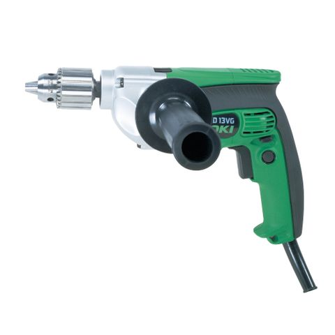 HIKOKI DRILL 13MM VSR HEAVY DUTY 800W W/CASE