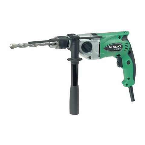HIKOKI IMPACT DRILL 2SPD V.S.R 13MM CHUCK W/CASE 690W
