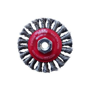 JOSCO BRUSH WHEEL TK20 100X1RXMT 0.50