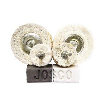 JOSCO POLISHING KIT 50 & 100 6PCE 6.3 SPINDLE