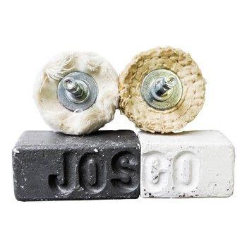 JOSCO POLISHING KIT 50 4PCE 6.3 HEX SPINDLE