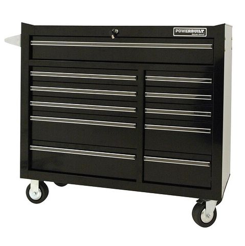 "POWERBUILT 41"" 11 DRAWER ROLLER CABINET - RACING SERIES"