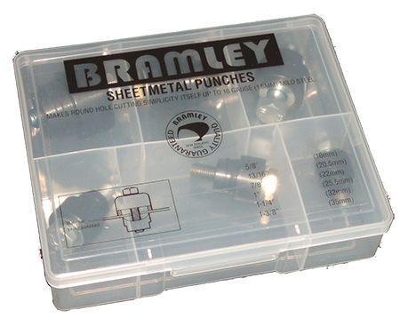 BRAMLEY SHEETMETAL (CHASSIS) PUNCHES SET