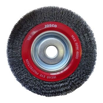 JOSCO BRUSH WHEEL CR 200X28XMB 0.35MM