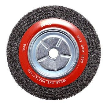 JOSCO BRUSH WHEEL CR 250X25.4XMB 0.35MM