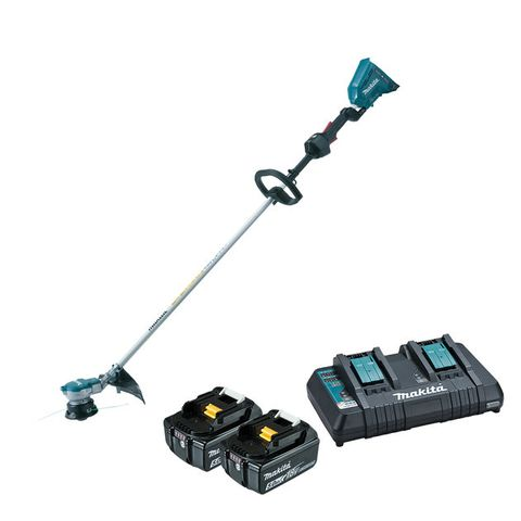 MAKITA 18VX2 (36V) BRUSHLESS ADT LOOP HANDLE GRASS TRIMMER 5AH KIT