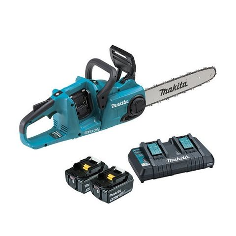 MAKITA CORDLESS CHAIN SAW 18Vx2 LXT KIT