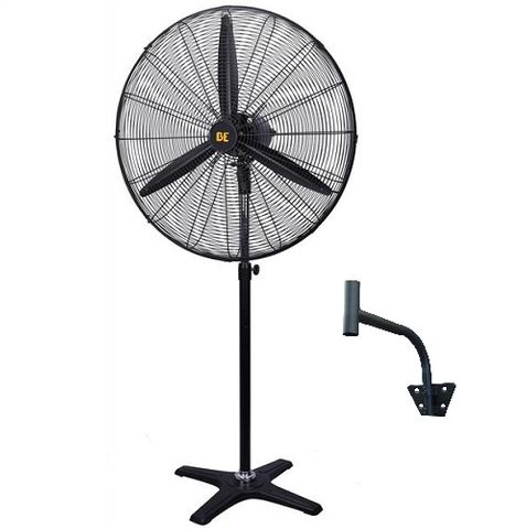 "PEDESTAL FAN, 30"" OSCILLATING WITH WALL BRACKET"