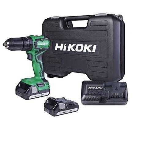 HIKOKI 18V COMPACT BRUSHLESS IMPACT DRILL 2 X 1.5AH