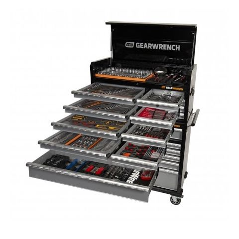 """GEARWHRENCH 513pce 42"""" TROLLEY + CHEST TOOLKIT"""