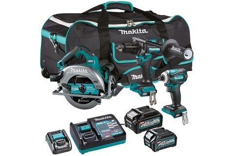 MAKITA 40V MAX XGT BL XGT 3pce KIT 4Ah Drill Driver Saw