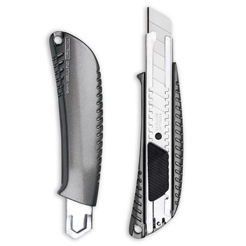 KOMELON SNAP OFF KNIFE ALUMINIUM 18mm - AUTO LOCK