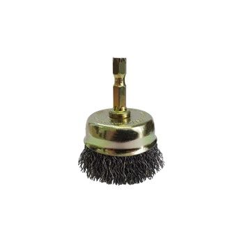 JOSCO BRUSH CUP CR 50MM 6.3 HEX SPINDLE