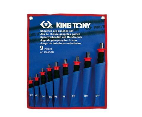 KING TONY 9PC PIN PUNCH SET 2-14