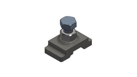 TUFF XHD Blade End Stop Casting supplied with Bolt