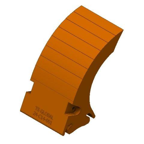 TUFF XHD Blade Standard Orange