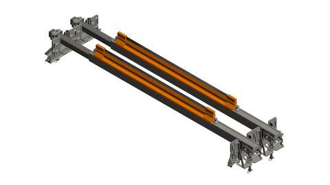 Cleaner TUFF Line Dual Swivel Toolsteel 1600 Spring Tension