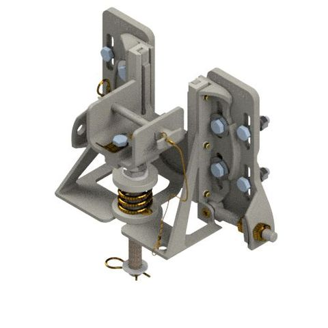TUFF Line Swivel End Assembly Spring Tensioned Operator Side