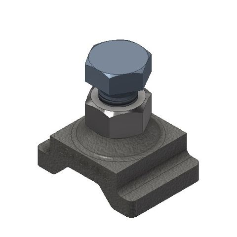 TUFF Line Blade End Stop Casting supplied with Bolt