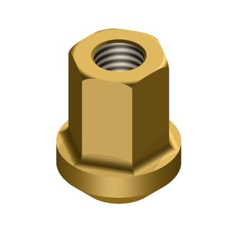 Rigid Poly 1340 Skirt Top Nut