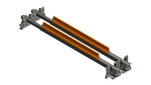 Cleaner TUFF Line Dual Swivel Tuffathane 1600 Air Tension