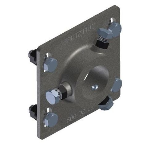 TUFF Vee Plough Torsion Mounting Bracket 48 Dia with Bolts