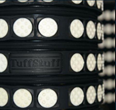 TUFF Lagging Ceramic Drive 12mm 2800 CW x 3200 OA
