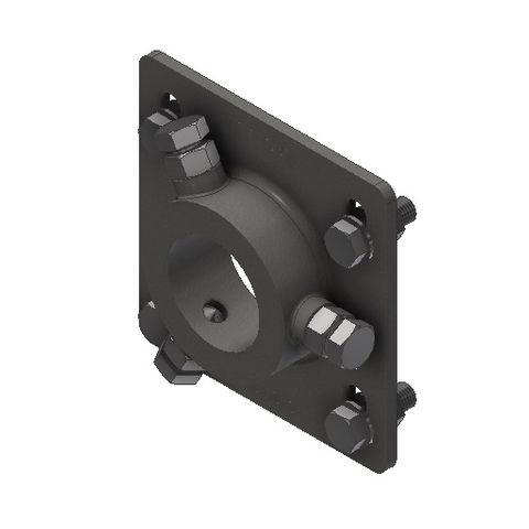TUFF Vee Plough Torsion HD Mounting Bracket 73 Dia with Bolts