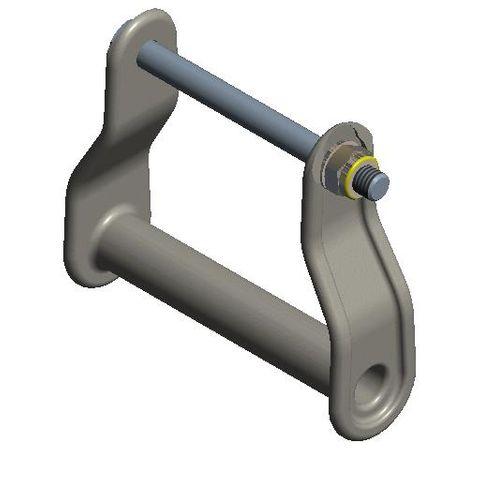 TUFF Line Pole Cartridge Handle Casting with Bolt