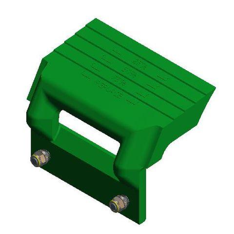 TUFF H Mono Arm Polyurethane SS Hi Temperature Green