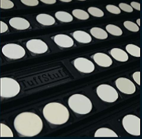 TUFF Lagging Ceramic Non Drive FRAS 12mm 1300 CW x 1700 OA
