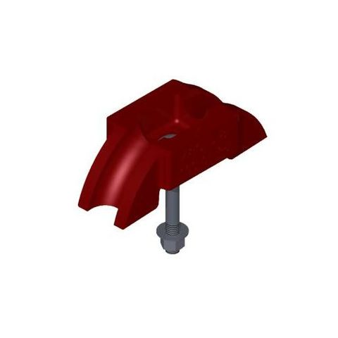 Conveyor Structure Saddle c/w Bolt Varithrough Right Hand