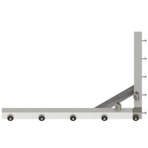 TUFF Vee Plough Floating Frame 1500