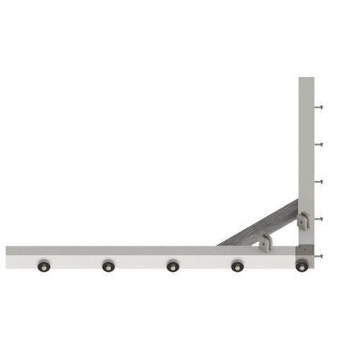 TUFF Vee Plough Floating Frame 1600
