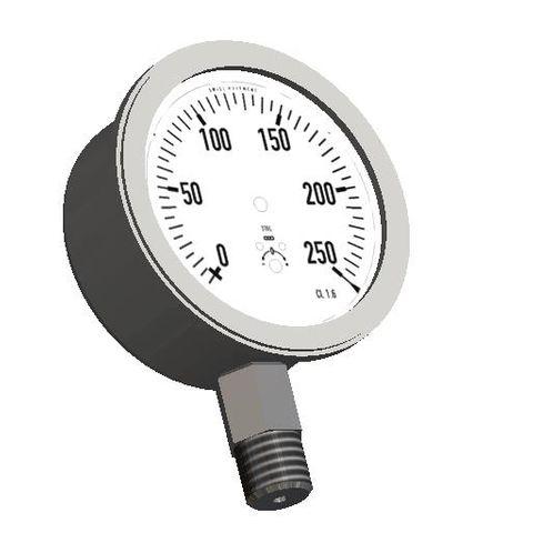 Pressure Gauge 250psi 1600kpa 65 Dia LM 1/4 BSPT