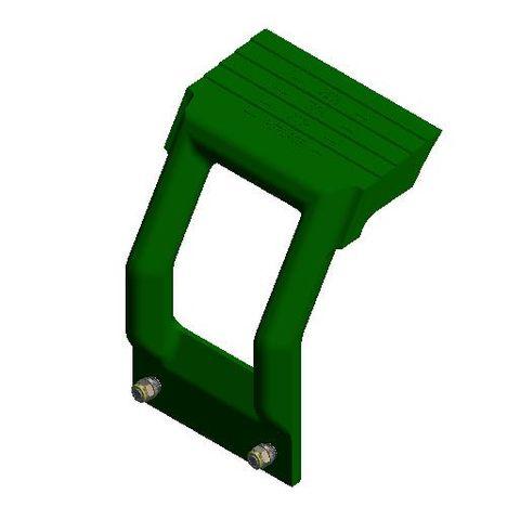 TUFF H Mono Arm Polyurethane L Hi Temperature Green