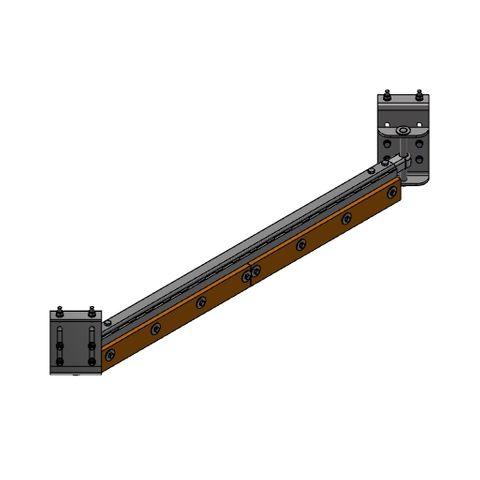 Cleaner TUFF Diagonal Plough 0900 - 1050