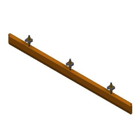 TUFF Rigid Poly Skirt System 1340mm - 95 Shore A Hardness