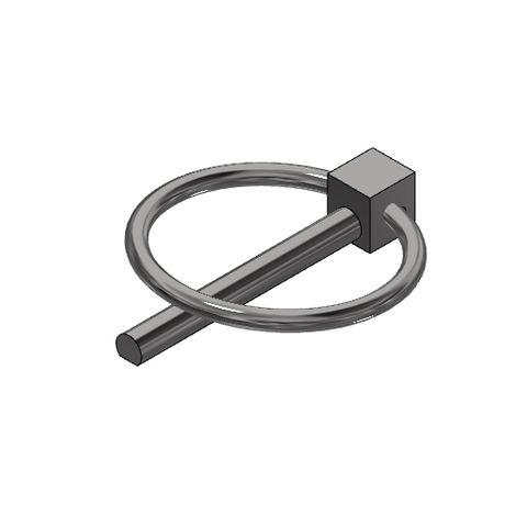 TUFF Clamp Skirt Linch Pin SS304 (4.5mm)