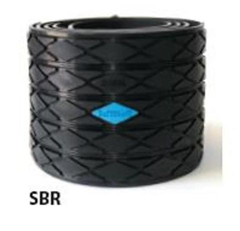 TUFF Lagging Rubber 12mm x 6.5m Roll Diamond Grooved